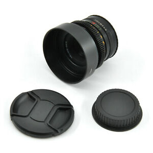 Helios 44M 58mm F2 Anamorphic Bokeh Prime Cine Lens For Canon EF Mount!
