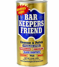 Bar Keepers Friend Cleanser Polish 12 Oz 340 G