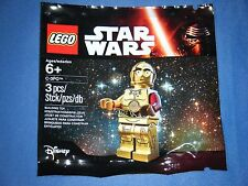 LEGO STAR WARS MINI-FIGURE - RED ARM C-3PO - Limited Edition NEW
