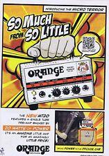 ORANGE AMPS ADVERTorIginal press clipping20x28cm