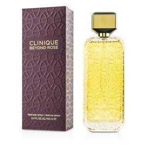 NEW Clinique Beyond Rose Parfum Spray 3.4oz Womens Women's Perfume