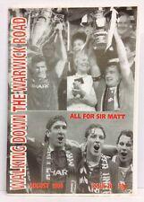Walking Down The Warwick Road Issue 28 Manchester United Fanzine 1994 WDWR