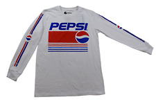Pepsi Mens Pepsi-Cola Mens White Shirt New S, M, L, XL, 2XL
