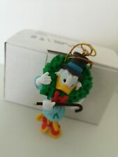 Scrooge McDuck Disney Grolier Christmas Magic Ornament In Box