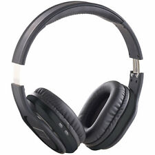 auvisio Faltbares Over-Ear-Headset, Bluetooth, Active Noise Cancelling 20 dB