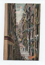 Cartolina, Napoli  Gradoni di Chiaia .