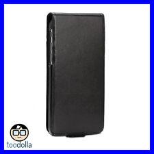 SENA Hampton Flip genuine leather flip case with card storage, iPhone 6/6s Black