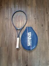 New listing WILSON Extra II Largehead Tennis Racquet and Head Cover