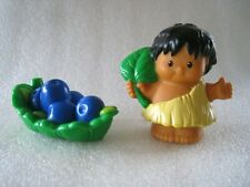 2005 Fisher-Price Lp Lil' Dino Brontosaurus Set Cave Figure & Food Piece Only