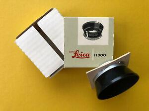 Leica / Leitz IROOA Gegenlichtblende / Lens hood for Summicron M 35mm. ITDOO.