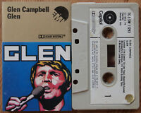 GLEN CAMPBELL - GLEN (EMI TC-E-SW 11293) 1974 UK CASSETTE TAPE COUNTRY POP VG
