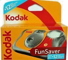 Kodak Fun Flash Disposable Camera 27exp. + 12 FREE (39 Exposures) BNIP