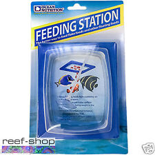 Ocean Nutrition Feeding Frenzy Feeding Station Prevents Fish Food Floating Away