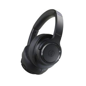 Audio Technica Bluetooth over Ear Headphones ATH-SR50BT BK Black New