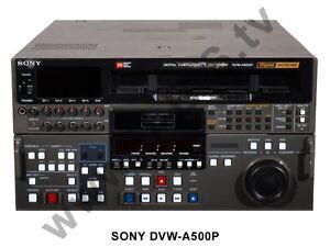 Sony Digital Betacam DVW-A500P