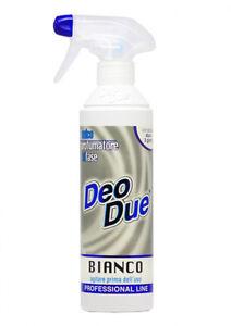 Deo Due BIANCO 500ml - DeoDue Deodorante Profumatore Bifase Professional Line