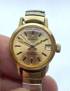 Vintage BIRKS automatic 21 jewel Swiss made ladies watch