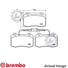 BRAKE PAD SET DISC BRAKE FOR ALFA ROMEO GTV SPIDER 156/Sportwagon 147  DODGE