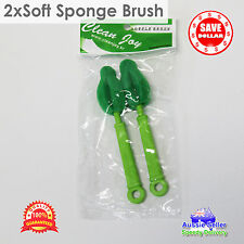 2x Sponge Bottle Brush Cleaner Drink Bottle Brush Baby Bottle Washing Brush