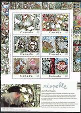 Canada Art Riopelle Famous Paintings Souvenir Sheet 2003 MNH