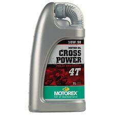 Motorex Cross Power 4 tiempos 10W/50 Completo Sintetizador aceite 1 litros Honda CRF250 CRF 250