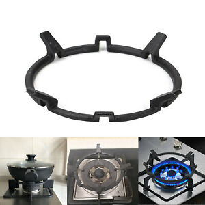 Home Wok Pot Stand Cooker Cast Iron Gas Burner Rack Accessories Sturdy Support