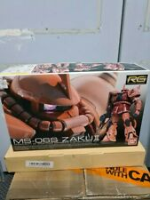 RG MS-06S Zaku II Gundam Red ver.