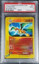 Pokemon PSA 9 Charizard Reverse Holo from Expedition! Mint! #40