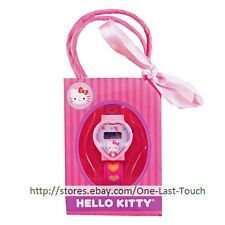 HELLO KITTY* Digital Plastic Watch Stocking Stuffer+MINI BAG Hearts OSFA 2/2
