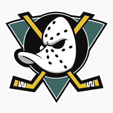 Mighty Ducks Anaheim Logo NHL DieCut Vinyl Decal Sticker Buy 1 Get 2 FREE