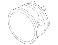 Genuine Ford Fog Lamp Assembly 3C5Z-15200-AA