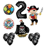Mayflower Products Pirate 2nd Birthday Party Supplies Balloon Bouquet
