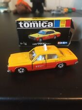 30th Anniversary  1/65 Toyota Crown Taxi Yellow Orange/Black Box Tomica No.110