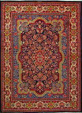 """9'  10"""" x 13'  1""""  Sarough, Iran, Wool,  Authentic Hand Knotted Persian Rug"""