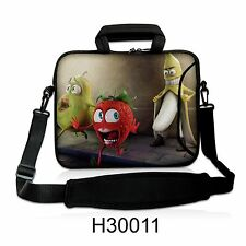 """17"""" LAPTOP SLEEVE WITH HANDLE & SHOULDER STRAP 4 ALL LAPTOPS, *BANANA* FREE POST"""