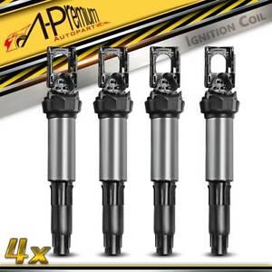 4x Ignition Coils for BMW E87 E88 116i 120i E46 316i 318i 318is E90 320i