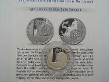 Portugal - 5 Euro - 2003 - Silber - 150 Jahre Erste Briefmarke