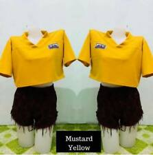 Maris Crop Top F10 (Mustard Yellow)