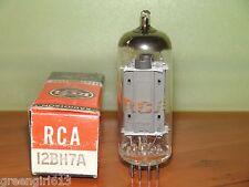 RCA 12BH7 Vacuum Tube Results = 3550/3525  µmhos  ~  10.3/10.8 mA