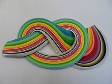Quilling Paper 3mm  -  Spring colours - 175 strips
