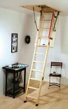 YOUNGMAN ECO S LINE TIMBER FOLDING LOFT LADDER & HATCH