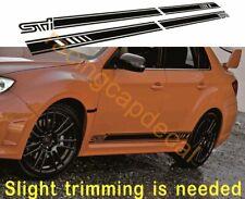 MY13 SE Side Stripe door Decal Sticker vinyl for impreza sti wrx gvb grb grf vab