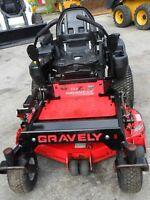 "Gravely XDZ 144Z 48"" Riding Zero-Turn Mower, 21HP Kawasaki Engine"