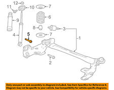 GM OEM Rear Suspension-Shock Bolt 11610587