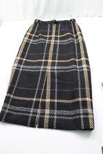 Vtg Jones New York Damen Größe 10 Wolle Verpackt Rock Gefüttert Kleidung & Accessoires