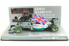 Mercedes AMG F1 W05 Híbrido No. 44 Campeón Mundial Ganador Abu Dhabi GP 2014 (
