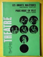 L'Avant-Scène Théâtre 362 1966 Middleton Les Amants et de Tervagne Pique-nique