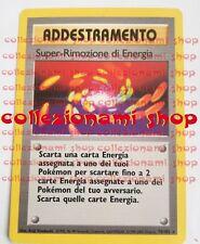 SUPER-RIMOZIONE DI ENERGIA - RARA 79/102 - POKEMON - ITALIANO