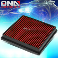 FOR 78-91 AUDI 80-84 VOLVO 88-97 JAGUAR WASHABLE DROP-IN PANEL AIR FILTER RED