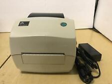 """Zebra TLP 2844-Z Thermal Printer USB ZebraNet PrintServer II 4"""" 284Z-10400-0001"""